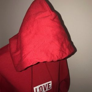 LOVE THE HOODiE Tops - RED ❤️LOVE THE HOODiE ❤️ VIP LIMITED EDITION #LOVE